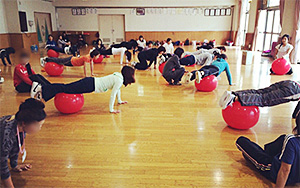 バランスボール教室