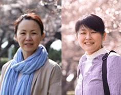 講師:渡辺美奈子(左)<br>&emsp;&emsp;&emsp;ますだじゅんこ(右)