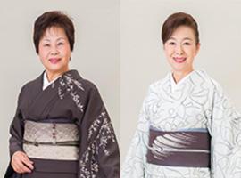 講師:秋和道子(左)<br>&emsp;&emsp;&emsp;田中芳江(右)
