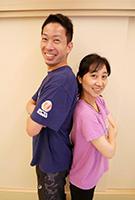 講師:林裕一(左)<br>若林恵子(右)