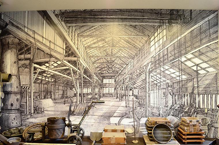 川口市立文化財センター(玄関正面)