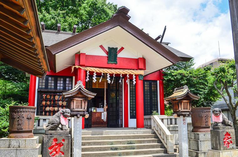 元郷氷川神社(外観)