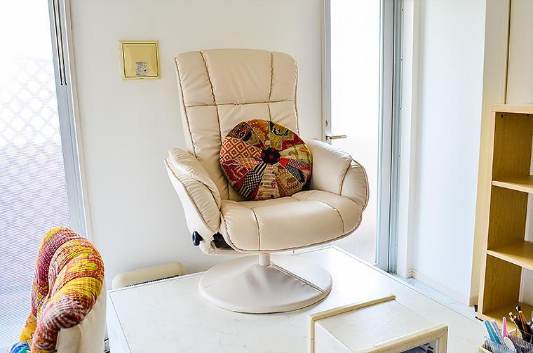 ネイルサロンM's(フット椅子)