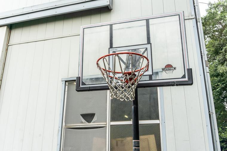 大泉工場 バスケットゴール