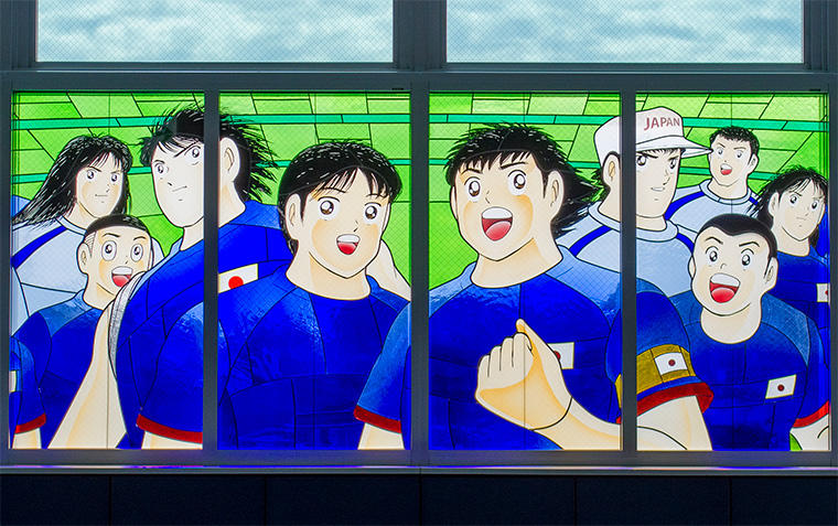 Captain Tsubasa Stained Glass