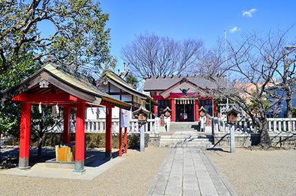 川口元郷―氷川神社