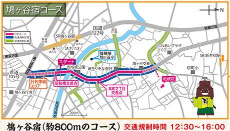 鳩ヶ谷宿コース