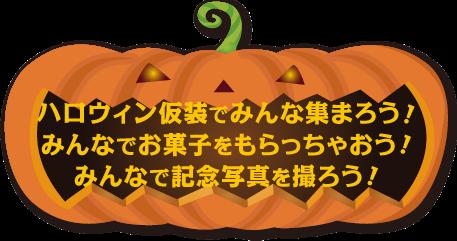 かぼちゃ(仮装、お菓子、写真)