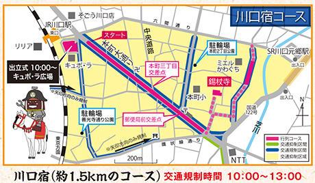 川口宿コース