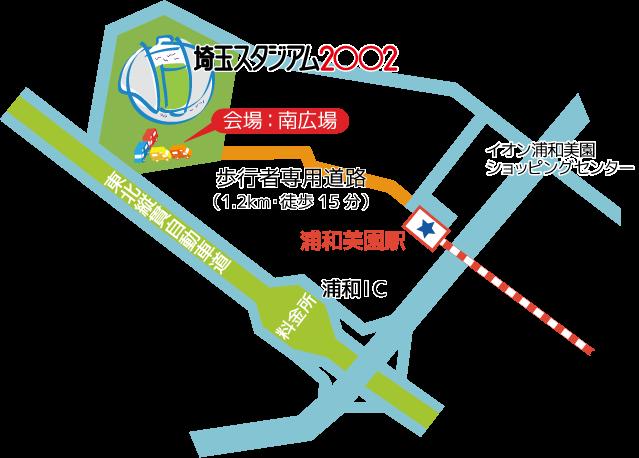 全国キッチンカーグルメ選手権2016マップ