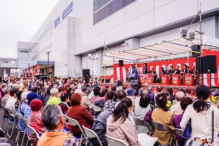浦和美園まつり&花火大会 ステージショー