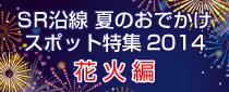 【終了】SR沿線 夏のお出かけ特集2014 花火編