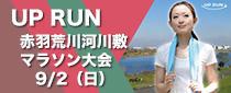 第20回 UP RUN 北区赤羽・荒川スプリングマラソン大会