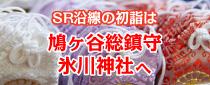 【終了】SR沿線の初詣は「鳩ヶ谷総鎮守氷川神社」へ