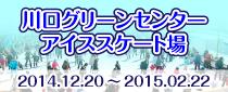 【終了】川口グリーンセンター アイススケート場OPEN!