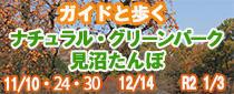 埼玉スタジアム線から歩く晩秋〜初冬のツアー