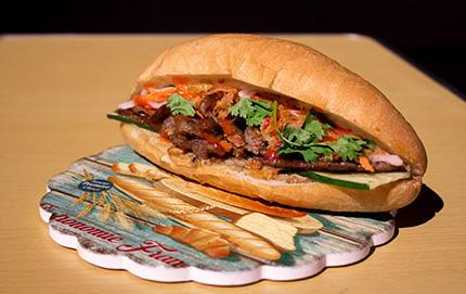 MIKAバインミーの「ベトナムサンドイッチ」