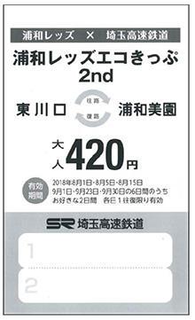 浦和レッズエコきっぷ2nd