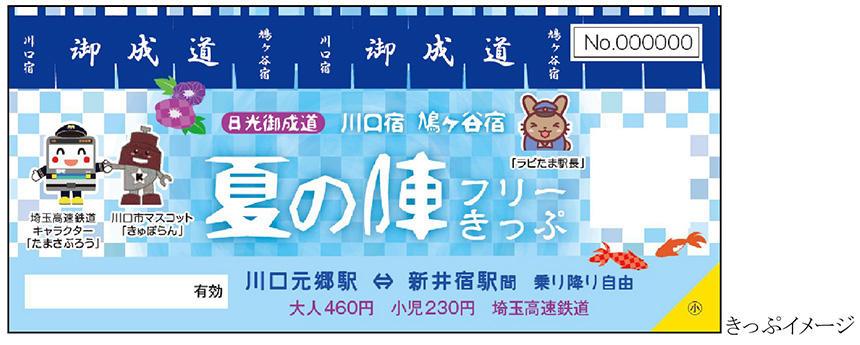 2018日光御成道 川口宿 鳩ヶ谷宿 夏の陣