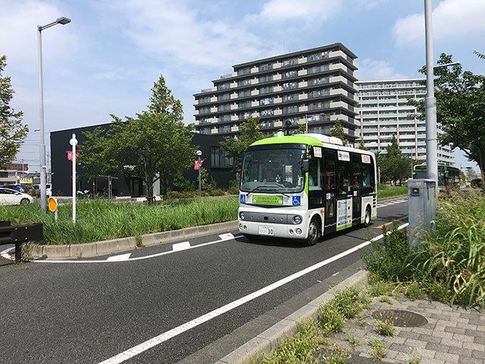 自動運転バス公道実証実験