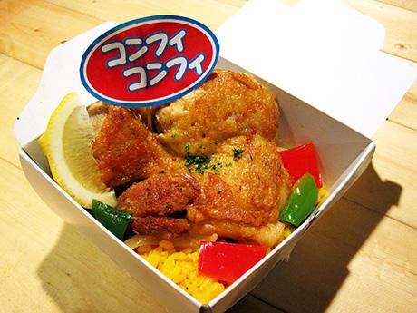 コンフィコンフィの鶏肉のコンフィ