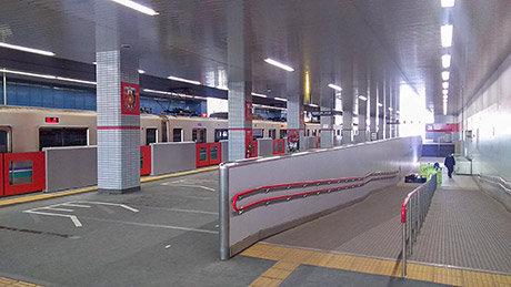 浦和美園駅 臨時ホーム